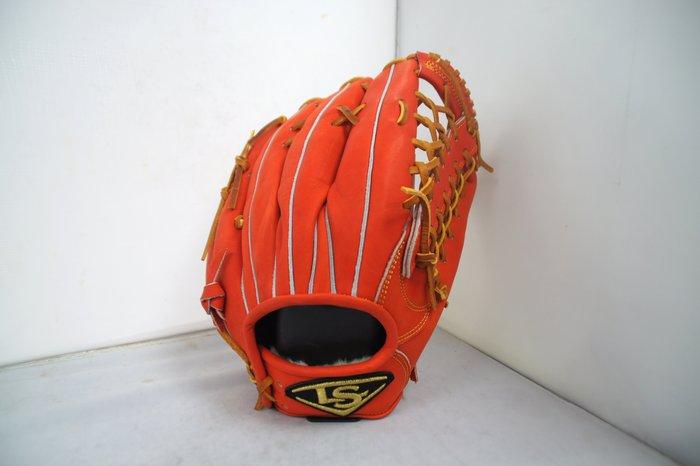 《星野球》Louisvelle Slugger 訂製版 棒壘球手套 日系紅 斜角T網型