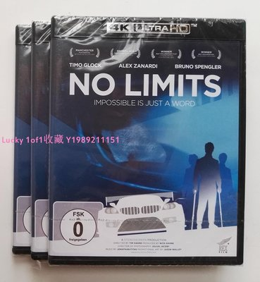 Lucky 1of1收藏正版4K UHD藍光碟 No Limits:Impossible is Just a Word賽車