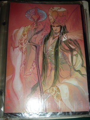 日本明信片POST CARD ~ 小林 智美原畫展 約1991年【CS超聖文化讚】