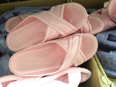 日本製造 一體成型 交叉止滑浴室拖鞋 ...
