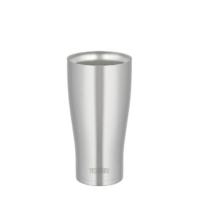 膳魔師不銹鋼真空冰沁杯,不銹鋼色 JDA-600-S , 啤酒杯, 可超取, 寄離島