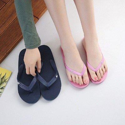 SANDAL NYAMAN (COMFORTABLE SLIPPERS) 純色情侶夾腳拖AS909003