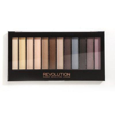 【愛來客】英國Makeup Revolution Essential Matt 眼影盤 啞光無珠光眼影盤 新祕/彩妝師