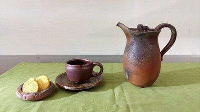 綜合諸家柴燒--牛奶壺之茶席分享