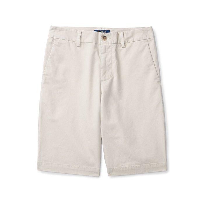 美國百分百【全新真品】Ralph Lauren 短褲 休閒褲 褲子 Polo 小馬 RL 淡卡其色 29腰 H874