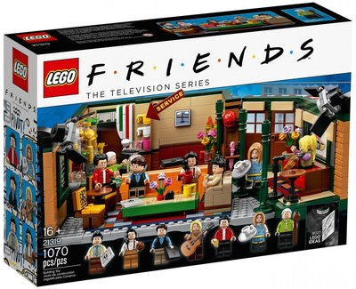 【CubeToy】樂高 21319 創意系列 六人行 中央公園咖啡館 - LEGO IDEAS -