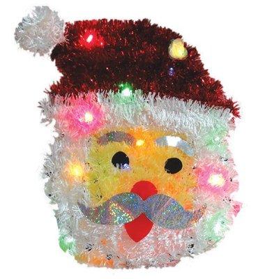 洋洋小品【LED聖誕裝飾造型燈-聖誕老公公】桃園平鎮中壢 聖誕節大型場地佈置 聖誕禮物 聖誕燈 聖誕花圈 社區公司機關