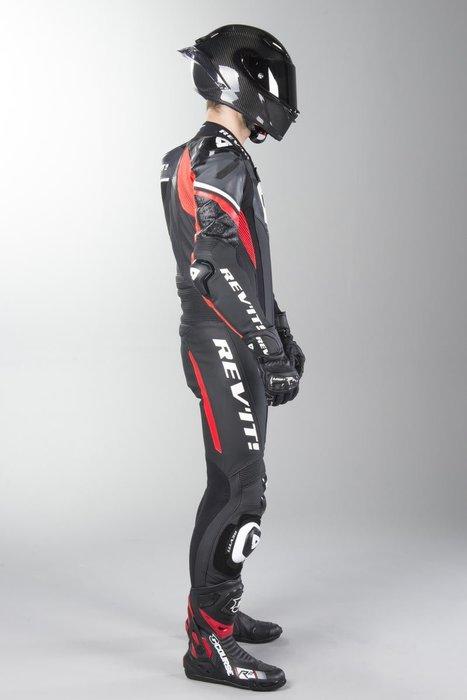 【柏霖動機 台中門市】荷蘭 REVIT  Argon 連身皮衣 FOL033 皮衣 連身  黑紅 送賽道體驗!!