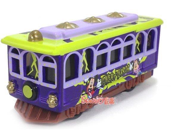 《東京家族》現貨日本TOMICA 東京迪士尼樂園限定 驚奇塔 驚嚇古堡 夢幻米奇巴士 萬聖節 小汽車合金車