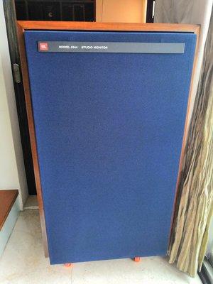JBL 4344監聽經典喇叭外觀絕對新(一直沒見過如此新)原裝品