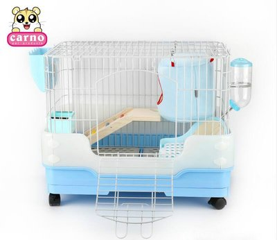 兔籠荷蘭豬垂耳兔子籠子特大號豪華豚鼠籠別墅用品套餐防噴尿