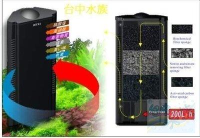 {台中水族}HEXA 全方位內置過濾器200L/H 特價