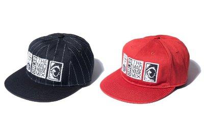 { POISON } DeMarcoLab DMCLOGY 6 PANEL #2 不修邊印刷布章 進口斜紋六片軟襯棒球帽