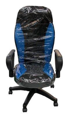 台中二手家具 西屯樂居二手家具館 EA1218AD*全新藍色賽車椅* 二手各式桌椅 中古辦公家具買賣 會議桌椅 辦公桌椅