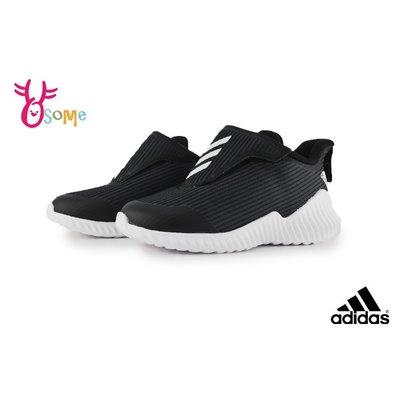 adidas FORTARUN AC 小童 寶寶運動鞋 慢跑鞋 R9355#黑色 OSOME奧森鞋業