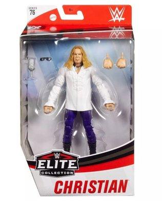 [美國瘋潮]正版WWE Christian Elite #76 Figure 經典The Brood哥德式風格精華版人偶
