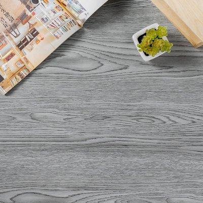 地板貼 1.5坪 126-木紋地貼 PVC地板-36片 阻燃防水耐磨地貼