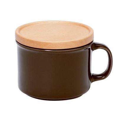 日本 ideaco canister mug 馬克杯/食物罐 -   沉穩咖 (S)