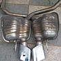 BENZ R230 SL500 原廠排氣管 後消 尾段