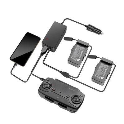 適用於大疆禦Mavic Air車載充電器 大疆禦Mavic Air雙電遙控器車充USB電池管家DJI用配件 居家家KBT296