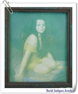((天堂鳥)) 西洋人物少女老相片#328