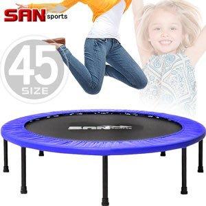跳跳樂45吋彈跳床114cm跳跳床彈簧床跳高床有氧彈跳樂彈跳器平衡感兒童遊戲床運動健身器材B004-45【推薦+】