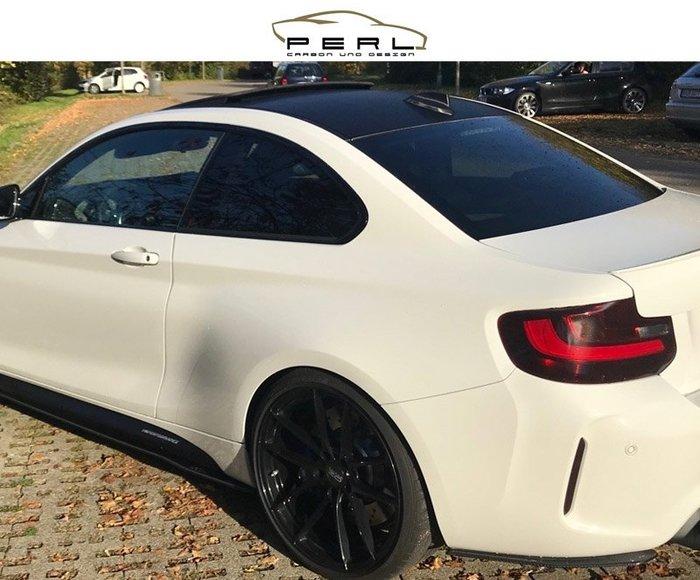 【樂駒】Perl Carbon Design BMW F87 M2 碳纖維 後保桿 輕量化 飾板 加裝 套件