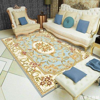 精選  歐式地毯客廳家用茶幾毯現代簡約臥室滿鋪房間床邊地毯可水洗地墊