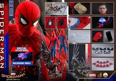 28/7 Hot Toys Spiderman Homecoming 1/4 蜘蛛俠 Deluxe Version QS015B 會場版 訂單 hottoys