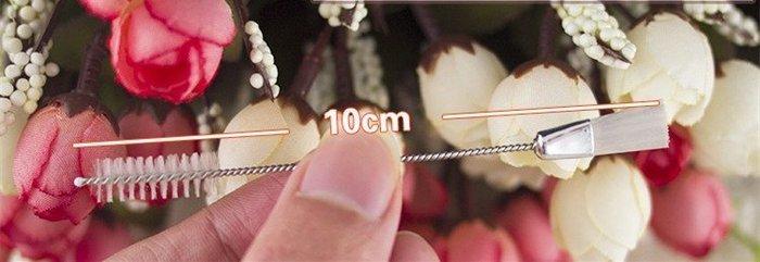 Amy烘焙網:擠花嘴清潔刷 保護花嘴 不鏽鋼