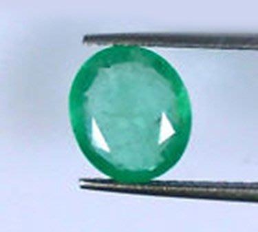 ((品瑄珠寶)))3.622克拉 尚比亞 綠色祖母綠 淨度乾淨 火光溫潤 經典車工 附聯合珠寶玉石鑑定所證書