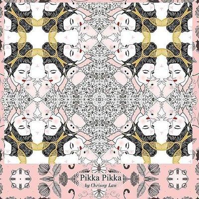 日本Pikka Pikka世界最細纖維毛孔潔淨布 A16/澳洲Chrissy Lau古典兔女郎/氣質名媛/人氣部落客分享