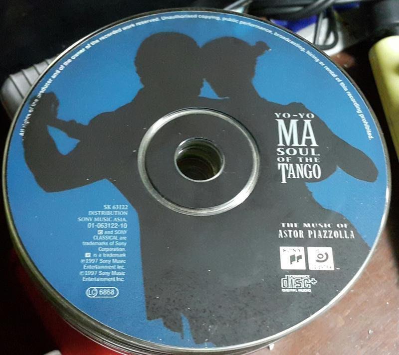 YO-YO MA--SOUL OF THE TANGO ~ 二手
