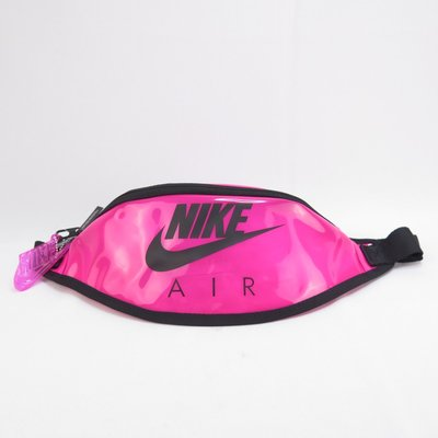 NIKE HERITAGE HIP PACK - CLEAR 單肩包 腰包 CW9259607 粉【iSport愛運動】