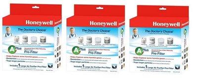 【高雄電舖】優惠 恆隆行原廠濾網 美國Honeywell CZ除臭濾網 HRF-APP1*3盒 HPA-100APTW