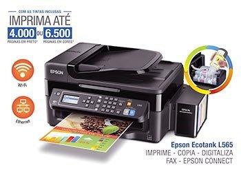 EPSON L565 原廠 連續供墨[缺貨] 傳真/WIFI/影印/列印/掃描/螢幕 L1800 L1300 L655