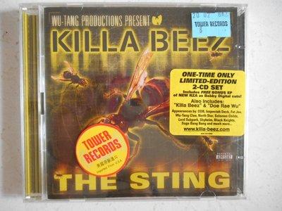Wu-Tang Present The Killa Beez - The Sting 進口美版 雙CD