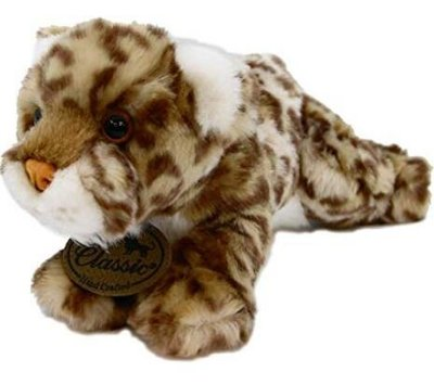 11765c 日本進口 好品質 限量品 可愛 獵豹花豹美洲豹  動物毛絨毛娃娃玩具玩偶收藏品擺件禮品
