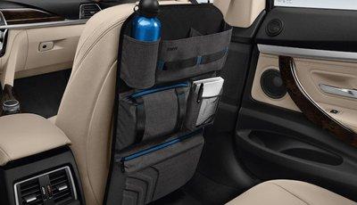 【樂駒】BMW 原廠 車內 精品 套件 周邊 椅背 收納 收納袋 置物 袋子 多口 多袋 防水 防污 易清洗