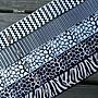 DAda緞帶‧C20283- 38mm超個性黑白山形紋.豹...
