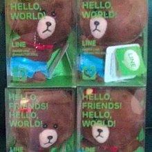最新 全家 咖啡 日本限量 第二代 LINE絨毛娃娃 限量版 熊大款 另有大頭筆