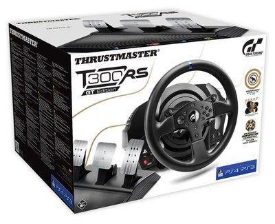 (宅配免運費)THRUSTMASTER T300RS GT 賽車 方向盤 支援 PS4 PS3 PC 公司貨 一年保固
