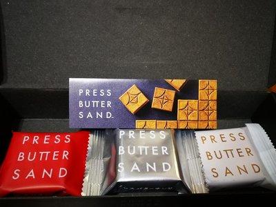 《阿肥小舖》press butter sand 組合3入B 原味焦糖奶油+涉谷可可+福岡甘王草莓 東京必買伴手禮