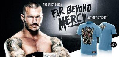 ☆阿Su倉庫☆WWE Randy Orton Far Beyond Mercy T-Shirt RKO絕不寬恕 特價中