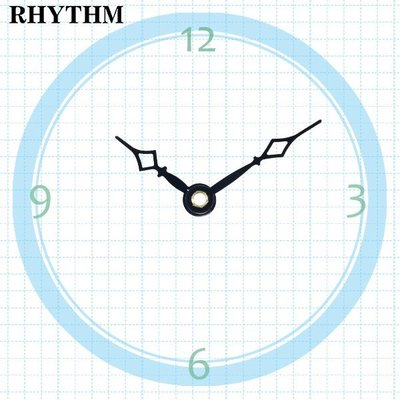 【鐘點站】R035027 麗聲RHYTHM 機芯專用 簡約指針 / 分針35mm 時針27mm / DIY 時鐘 掛鐘