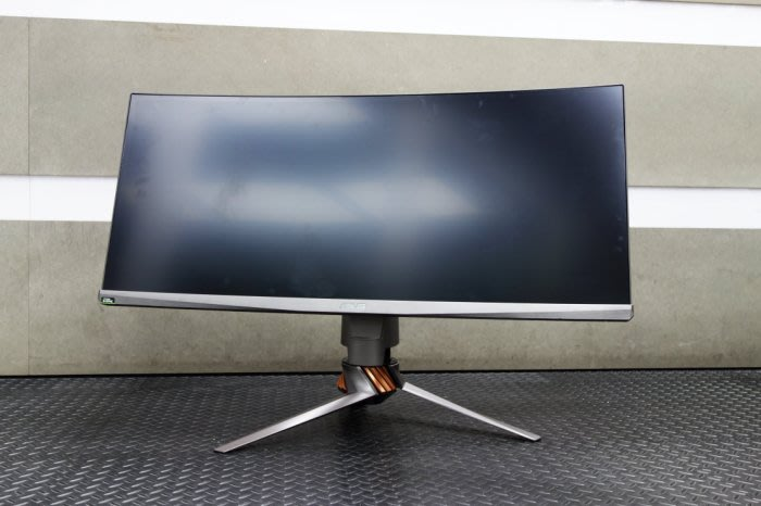 【台中青蘋果】Asus ROG Swift PG348Q 34吋曲面電競螢幕 僅拆品未使用 #33136