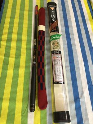 日本製 GAMAKATSU がまはえ 小継 MARKⅡ GOLD 中硬 54 八工竿 溪流竿 鯽魚竿 へら竿 可刷卡