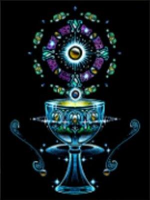 [心靈之音] #194聖杯(青春、活力與療癒) THE CHALICE-能量催化圖-美國進口中文說明