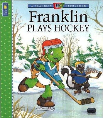 *小貝比的家*FRANKLIN PLAYS HOCKEY/平裝/7~12歲