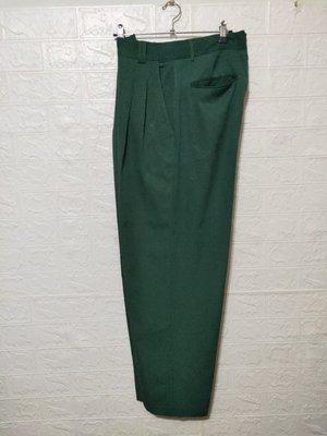 768綠色西裝褲XL